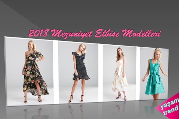 2018 Mezuniyet Elbise Modelleri