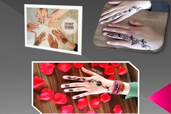 Mersin 'de Hint Kınasının Adresi Zeynep Henna