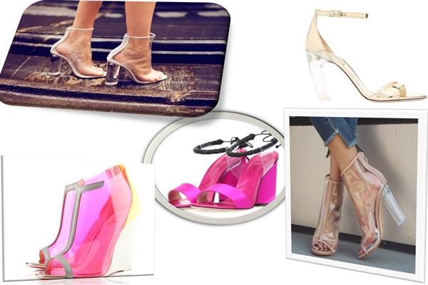 Ayakkabıda Yeni Trend Şeffaf