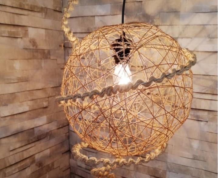 Balon Kullanarak Dekoratif Avize Yapımı