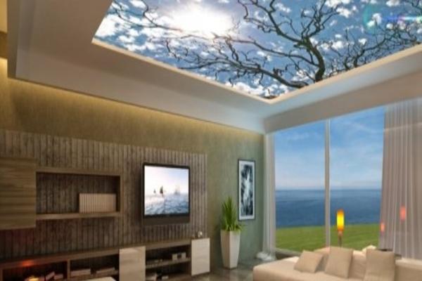 gergi tavan sistemleri etkin dekorasyon