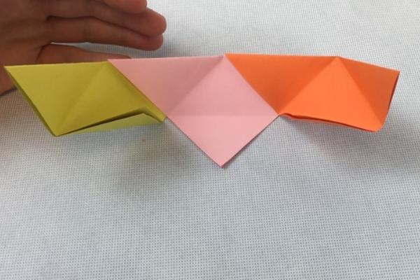 renkli kağıttan kap nasıl yapılır kolay anlatımlı
