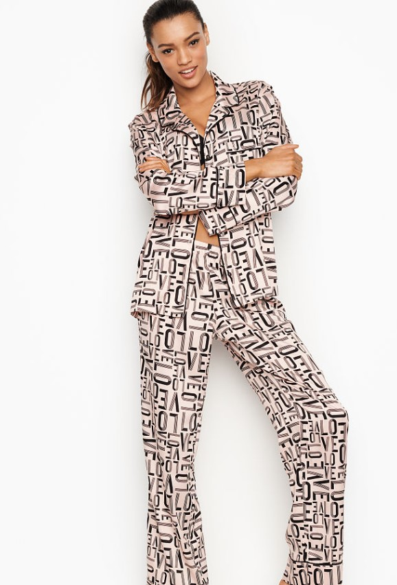 2019 saten pijama takımı modelleri victoria secret