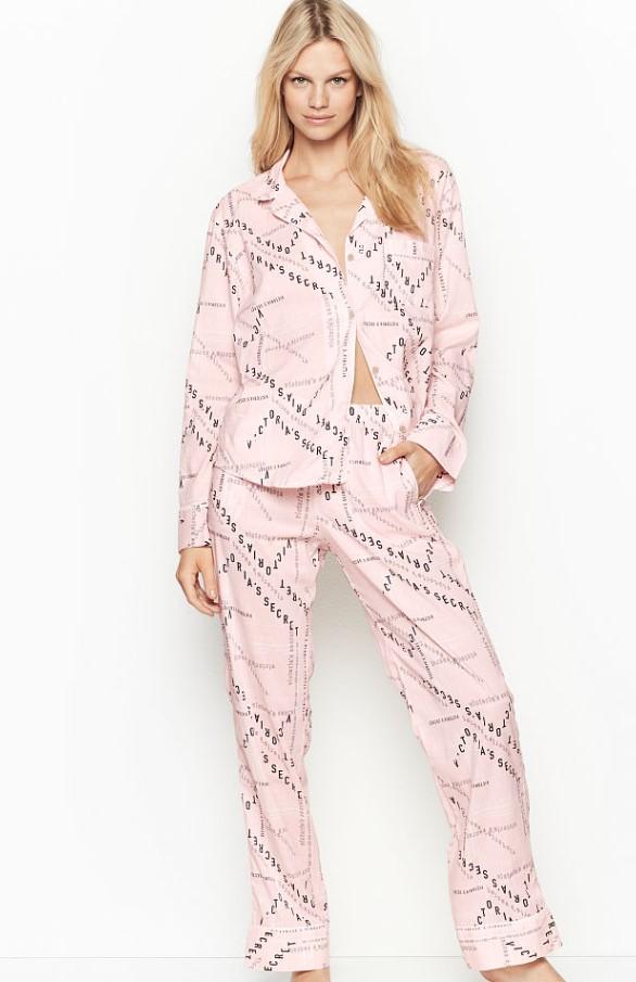 bayan saten pijama takımı victoria secret