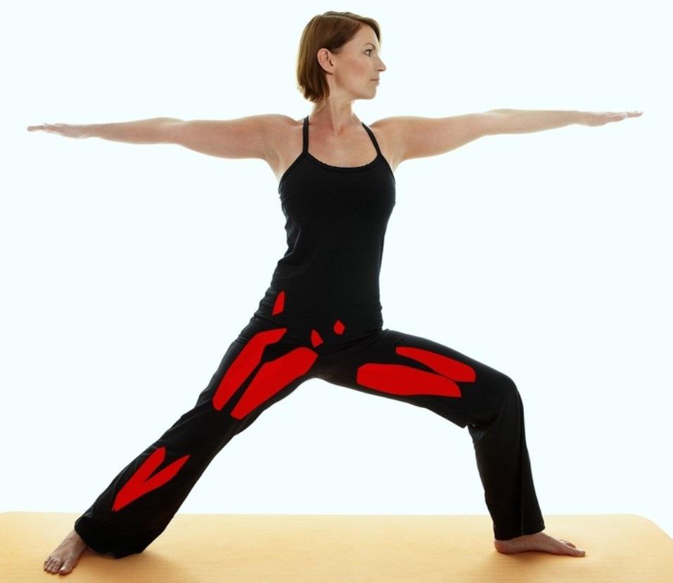 göğsü dikleştirmeye faydalı yoğa hareketleri savaşçı duruşu