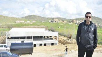 Berdan Mardini Köyünde Gül Fabrikası Kuruyor