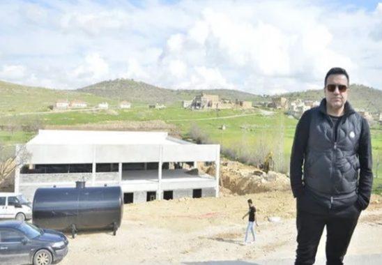 berdan mardini köyünde fabrika kuruyor