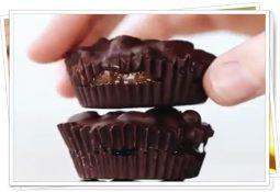 çikolatalı karamel çıtır kaplar nasıl yapılır