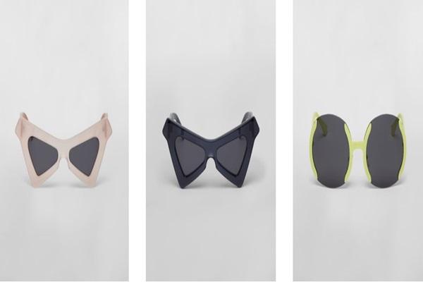geometrik güneş gözlüğü modelleri