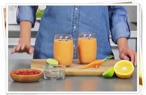 Portakallı Vegan Smoothie Denediniz mi ?