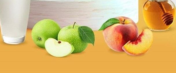 elmalı şeftalili smoothie tarifi