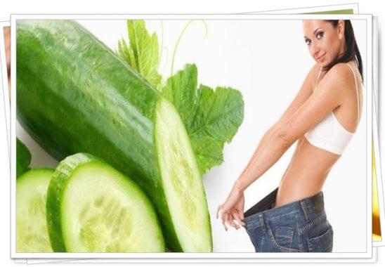 salatalık diyeti ile 4 günde 2 kilo