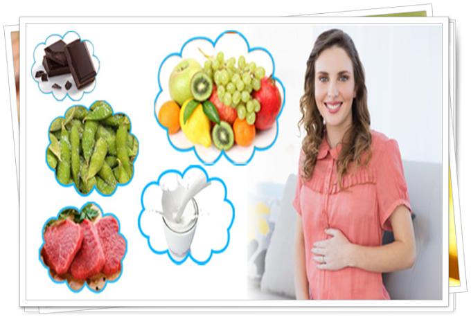 gebelik döneminde sık tüketilmesi gereken besinler