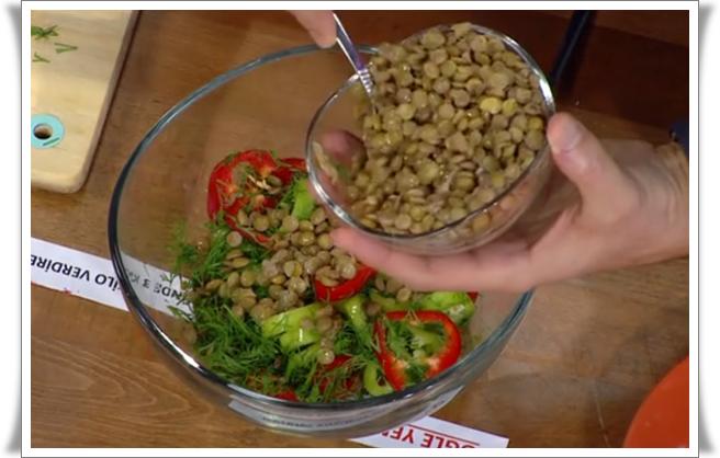 diyetisyen selahattin dönmez kilo aldırmayan yeşil mercimek salatası