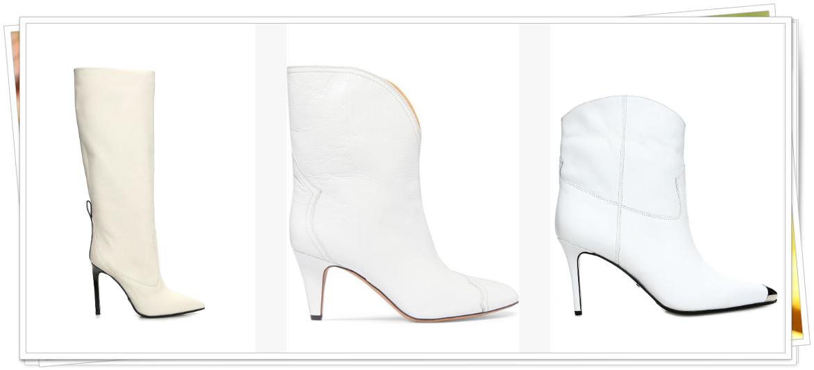 beyaz bot modası