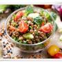 Günün Diyet Menüsü Proteinli Yeşillik Salatası
