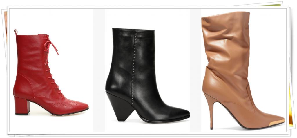 yeni sezon diz altı çizme modelleri