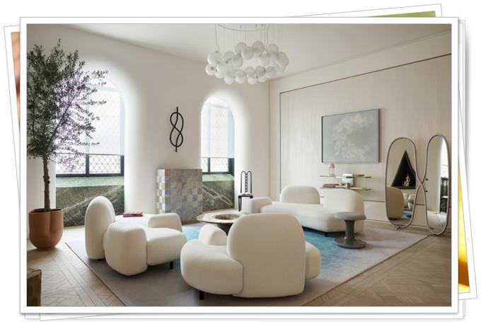modern oturma odası dekorasyonları 2020