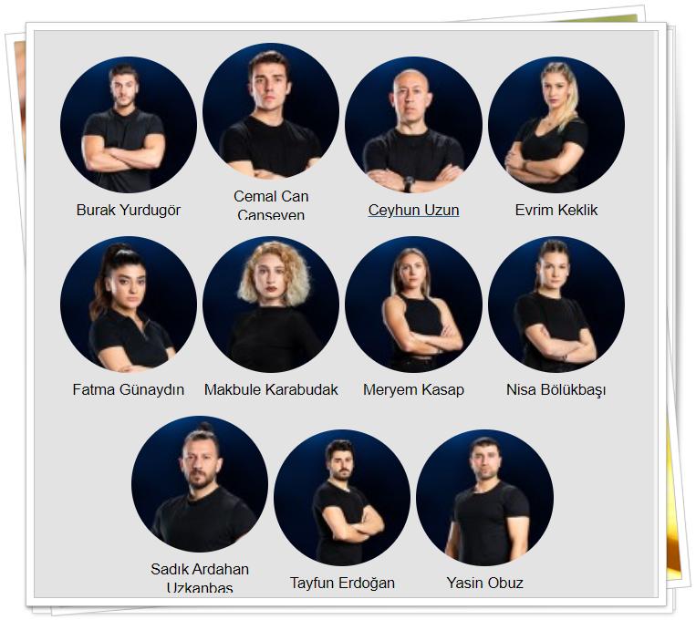 survivor 2020 gönüllüler takımı