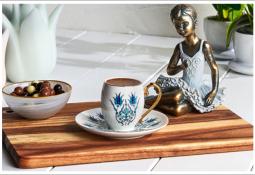 Şahane Karaca Kahve Fincan Takımı Modelleri