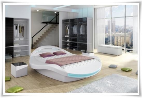 yuvarlak yatak tasarımları