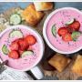 Nefis Pembe Soğuk Çorbayı Denemelisiniz !