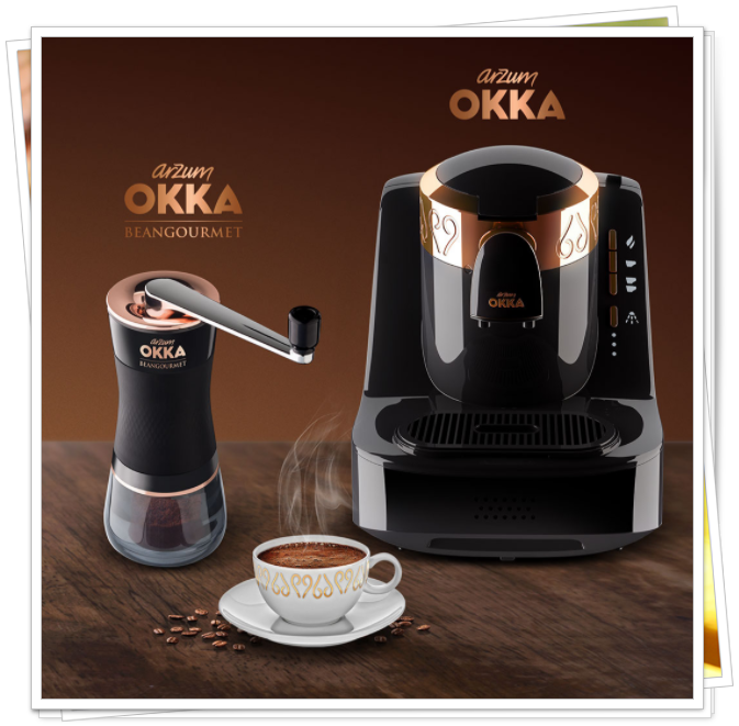 yeni arzum okka kahve makinesi