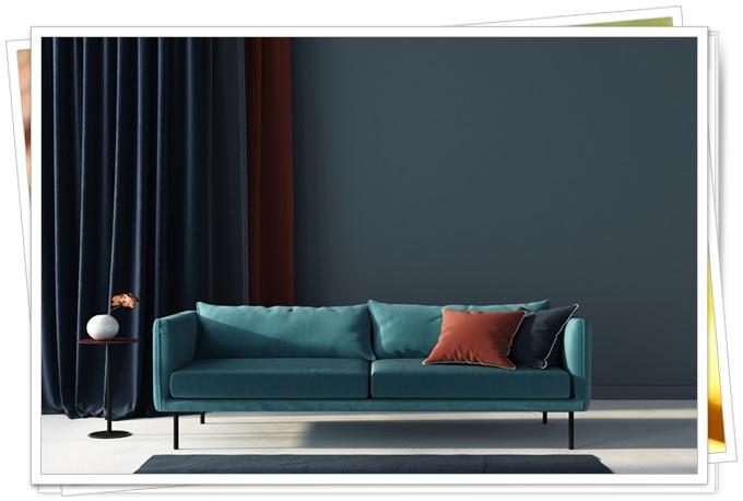 yeni sezon oturma odası renk kombinleri