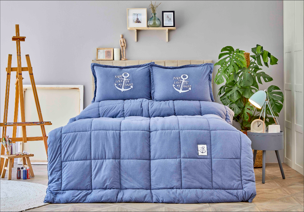yeni karaca home uyku seti cotton comfort