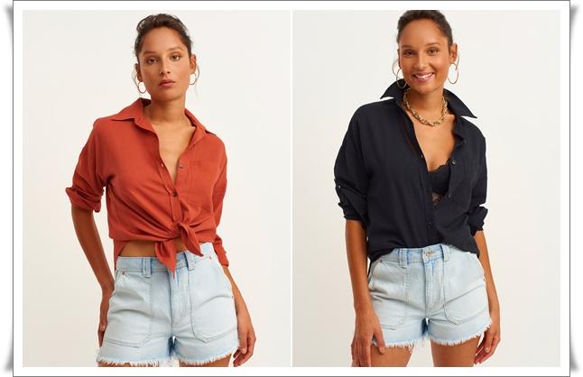 yeni sezon oversize gömlek modelleri oxxo