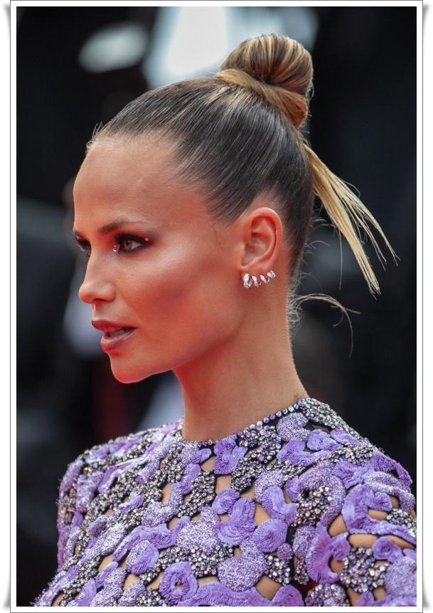 jet topuz saç modelleri