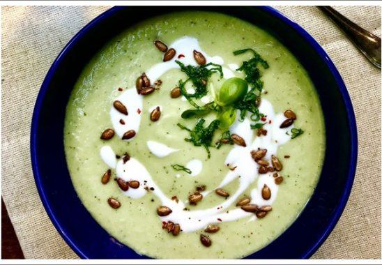 gazpacho verde çorbası tarifi