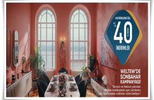 Weltew Home Kaçırılmayacak 2021 Sonbahar Kampanyası